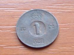 SVÉDORSZÁG 1 ŐRE 1969