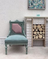 Ónémet fotel modern felújításban párban
