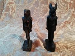 Egyiptomi istenek, kis szobrok