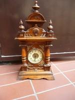 "Mechanikus, ütős, fali óra, "" Divina"" Made In Germany, Antik Friedrich Mauthe Divina felütős óra"