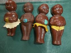 Néger gumibabák-60as évek