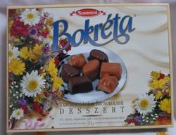 Régi desszertes (karton) doboz (Bokréta, 1998)