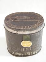 II. vh német, Afrika Korps számára gyártott cigarettás fém doboz