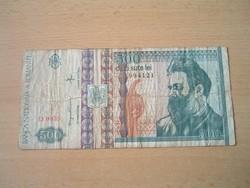ROMÁNIA 500 LEI 1992 D. SZÉRIA