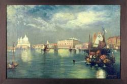 Beleznay jelzéssel : Velencei látkép
