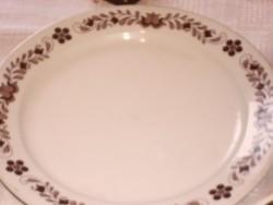 MOTÍVUMOS  barna alföldi tányér 23 cm