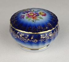 0V044 Régi német PM porcelán gyűrűtartó