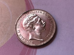 1911 ezüst 3 márka gyönyörű darab 16,67 gramm 0,900