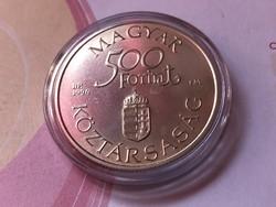 """Dunai Hajók""""Carolina"""" ezüst 500 Ft 31,46 gramm 0,925"""