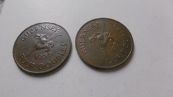 Bronz Guernsey Four Doubles 1956 RR