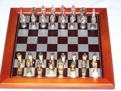 Roma Egyiptom sakk készlet fém ( 3287)
