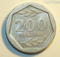 200 Peseta - Spanyolország - 1986.