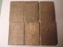 Magyar irók aranykönyvtára 6 kötet, Budapest 1908 egyben