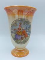 Barokk mintájú porcelán kaspó