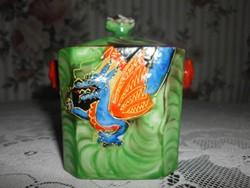 Japán porcelán teafűtartó.