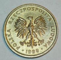 2 Zloty - Lengyelország - 1988.