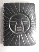 Mexico i indián nap mintás fekete márvány jegyzet füzet notesz napló mappa füzhető