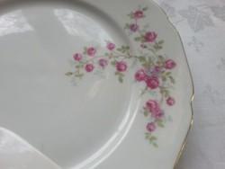 Porcelán   lapos és mély tányér  rózsamintával hiánypótlásra ?