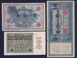 3 db német márka /id 5681/