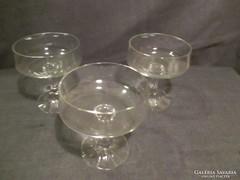 Akciós poharak! 3 db boros pohár A043
