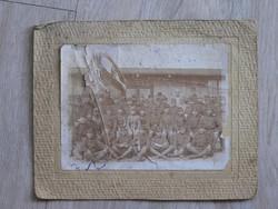 Sérült katona csoportkép