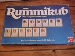 Rummikub szókirakó betűjáték