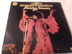 Shirley Bassey 20 GOLDEN FILM HITS  - bakelit lemez 1977