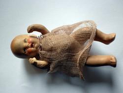 Antik mini porcelán baba