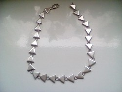 Nagyon mutatós ezüst nyakék(66g)