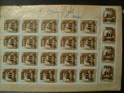 1945 Inflációs levél!!