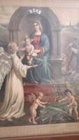 Szűz anya jézussal ritka
