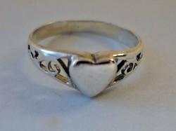 Szép kis régi ezüst gyűrű