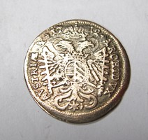 Ausztria 3 krajcár 1712 München.