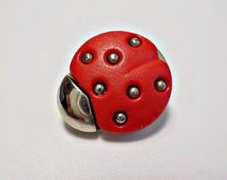 Retro katicás gyermek gomb
