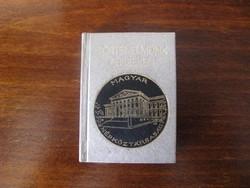 Mini numizmatikai könyv