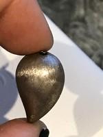 Ezüst régi minimalista medál
