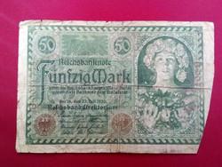 Német 50 Márka 1920 /id 3398/
