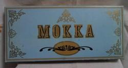 Régi desszertes (karton) doboz (Mokka, 1984)