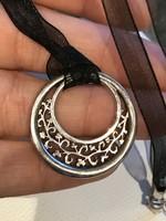 Ezüst régi  medál + ezüst lánc