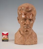 Máriahegyi János: József Attila márvány mellszobra