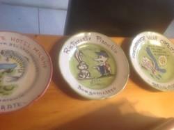 Olasz kézifestésü tányérok