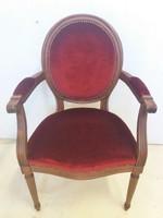 Francia barokk fotel-karosszék