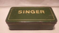 SINGER pléh doboz