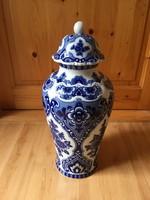 Wallendorf kobaltfestésű váza 45cm