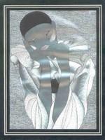 Bohócos falikép