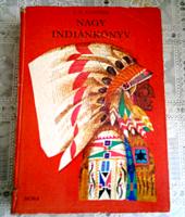 J.F. COOPER - NAGY INDIÁNKÖNYV 1983