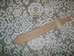 Retro játék kard fából - kézimunka