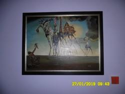Salvador Dali:Szent Antal megkísértése,olaj-vászon festmény!(másolat)