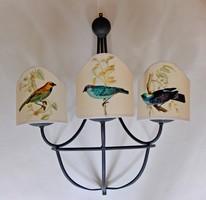 Háromkarú fali lámpa eladó