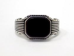 Ezüst pecsétgyűrű (ZAL-Ag75737)